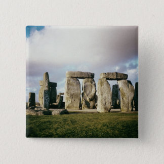 Stonehenge 15 Cm Square Badge
