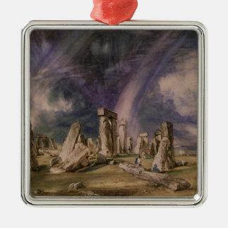 Stonehenge, 1835 christmas ornament