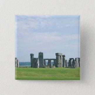 Stonehenge 2 15 cm square badge