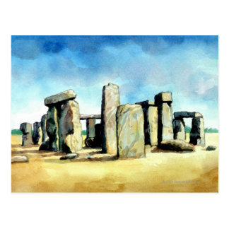 Stonehenge 2 postcard