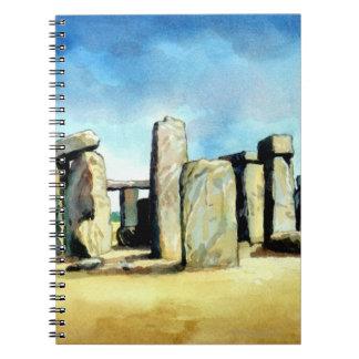Stonehenge 2 spiral notebook