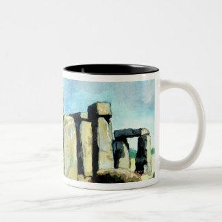 Stonehenge 2 Two-Tone mug
