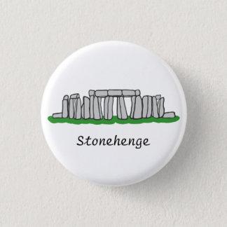 Stonehenge 3 Cm Round Badge