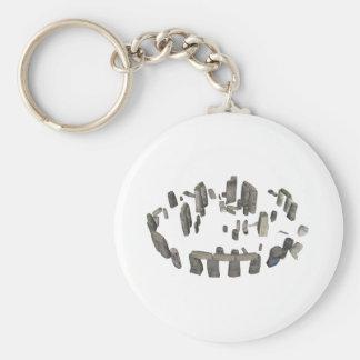 Stonehenge: 3D Model: Key Ring
