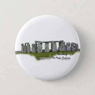 Stonehenge 6 Cm Round Badge