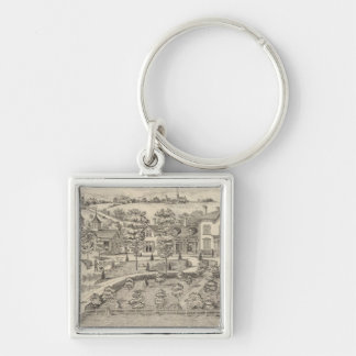 Stonehenge a residence and stock farm key ring