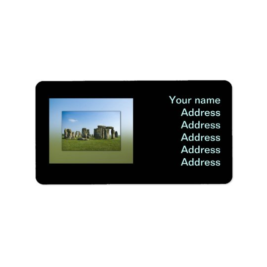 Stonehenge Address Label