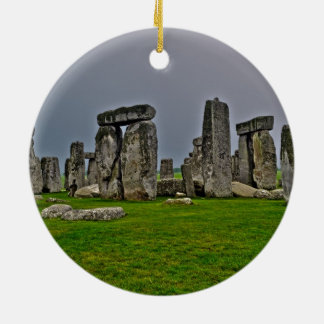 Stonehenge Ancient Historic Site of Power Christmas Ornament
