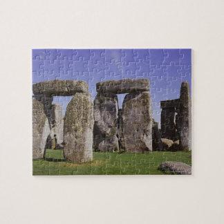 Stonehenge archaeological site, London, England Jigsaw Puzzle