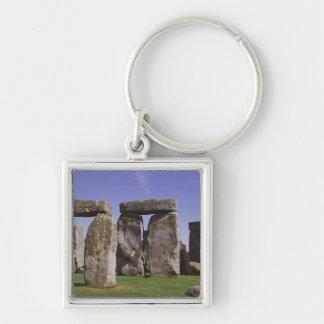 Stonehenge archaeological site, London, England Key Ring