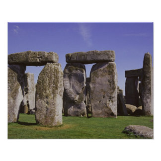 Stonehenge archaeological site, London, England Poster