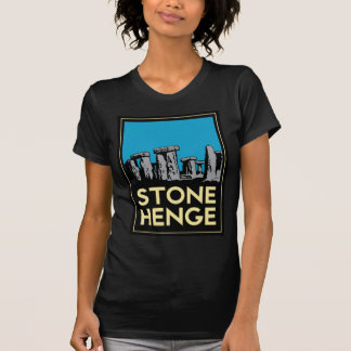 Stonehenge art deco travel poster T-Shirt