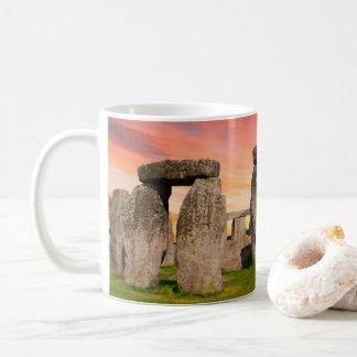 Stonehenge At Sunset Mug