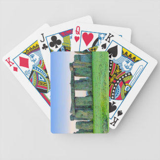 Stonehenge Bicycle Playing Cards