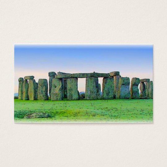 Stonehenge Business Card