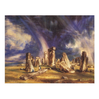 Stonehenge - by: John Constable Postcard