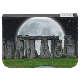 Stonehenge Celtic Standing Stones Full Moon Kindle 3 Cover