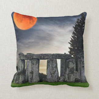 Stonehenge Celtic Standing Stones in Britain Throw Pillows