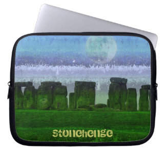 Stonehenge Celtic Standing Stones in Britain Laptop Computer Sleeve