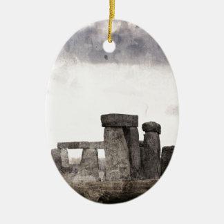 Stonehenge Christmas Ornament