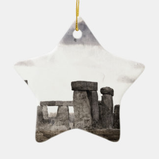 Stonehenge Christmas Ornament