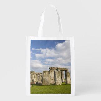 Stonehenge (circa 2500 BC), UNESCO World 2 Reusable Grocery Bag
