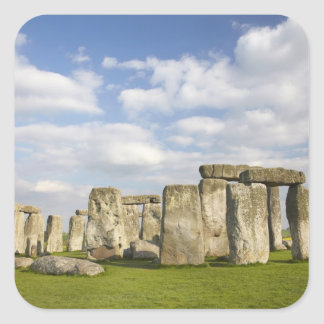 Stonehenge (circa 2500 BC), UNESCO World 2 Square Sticker