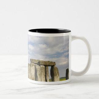 Stonehenge (circa 2500 BC), UNESCO World 2 Two-Tone Coffee Mug