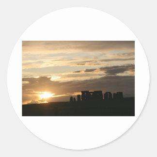 Stonehenge Classic Round Sticker