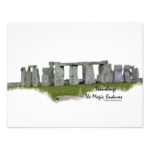 Stonehenge Custom Announcement