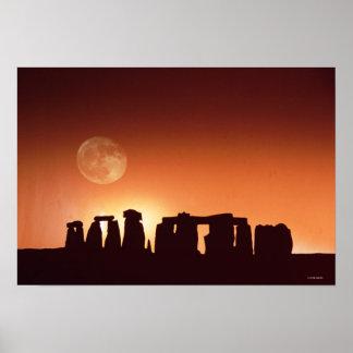 Stonehenge, England 2 Poster