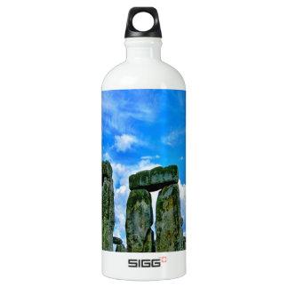 stonehenge england monument stone circle water bottle