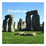 Stonehenge England Personalized Invites