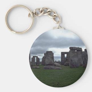 Stonehenge, England rock formation Key Ring