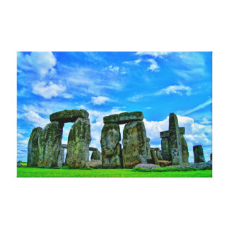 Stonehenge England Stretched Canvas Prints