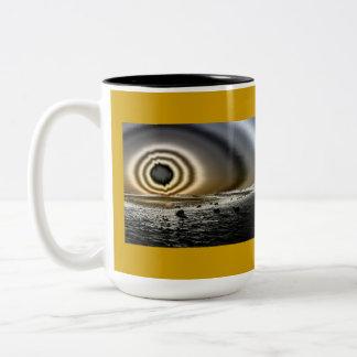 Stonehenge Eye Of the Sun Two Tone Coffee Mug