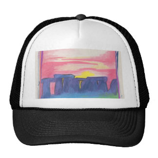 Stonehenge First Star Art by jrr Hats