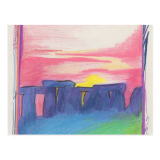 Stonehenge  First Star Art by jrr Postcard