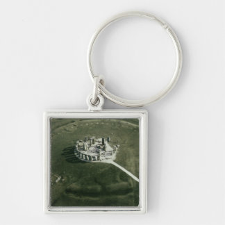 Stonehenge from the air key ring