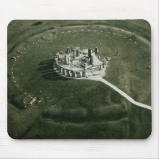 Stonehenge from the air mouse mat