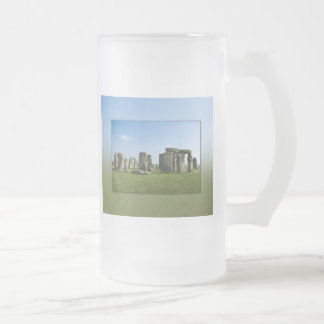 Stonehenge Frosted Glass Frosted Glass Beer Mug