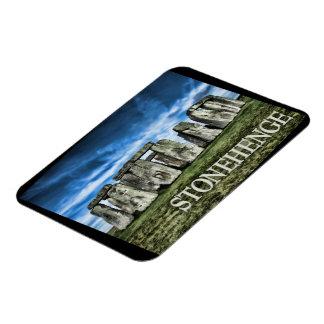 Stonehenge Image with  Caption Stonehenge Magnet