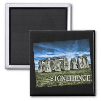 Stonehenge Image with Caption Stonehenge Fridge Magnets