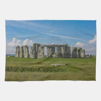 Stonehenge in England Tea Towel