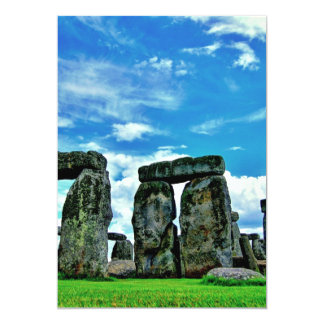 Stonehenge Personalized Announcement