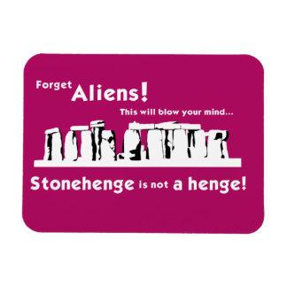 Stonehenge is not a henge! Fridge Magnet