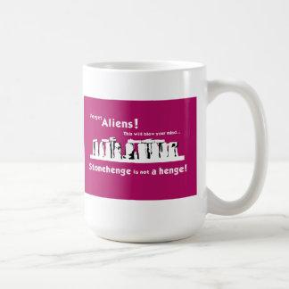 Stonehenge is not a henge! Mug
