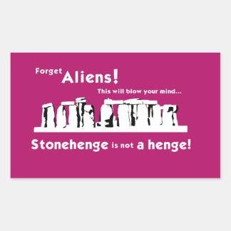 Stonehenge is not a henge! Stickers