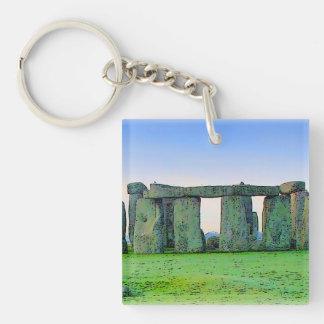 Stonehenge Key Ring