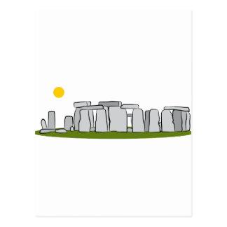 Stonehenge Landmark Postcard